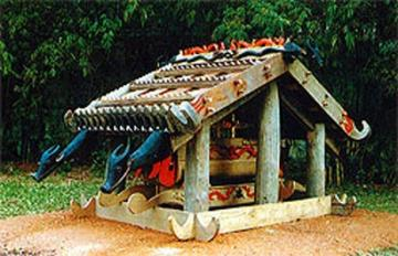 Tay Nguyen Grave House- A Distinctive Ritual of Ethnic People in the Central Highlands